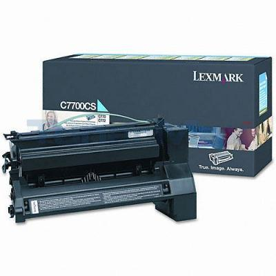 LEXMARK C770 RP PRINT CART CYAN 6K